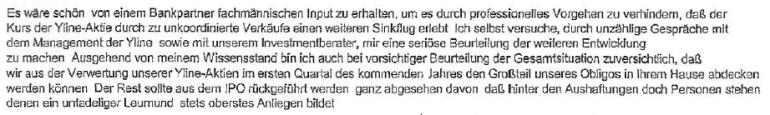 Friedrich Scheck schreibt an Creditanstalt