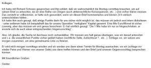E-Mail von Günter Pridt