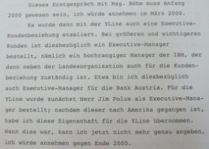Arthur Kozak Aussage vor Gericht