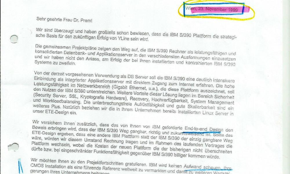 IBM bestätigt die Richtigkeit der Entscheidung für Großrechner