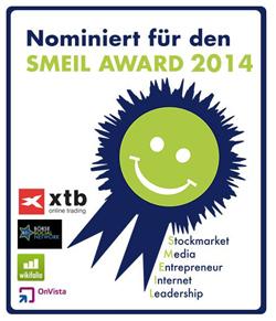 Die Akte YLine ist für den Smeil Award 2014 nominiert