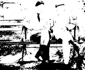 YLine-Veteranen auf der Parkbank