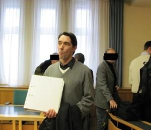 Marcus J. Oswald 2012 vor Gericht (Foto: © erstaunlich.at)